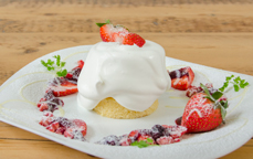 苺ベリーショートケーキ