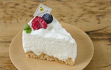 北海道ミルクのレアチーズケーキ